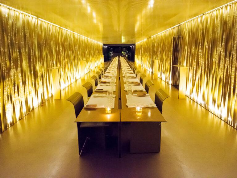 Restaurant les cols amb 2 estrelles Michelin