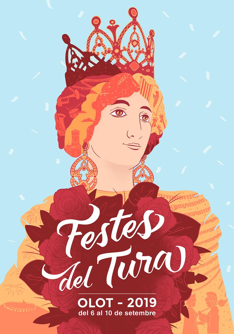 Festes del Tura 2019. Cartel