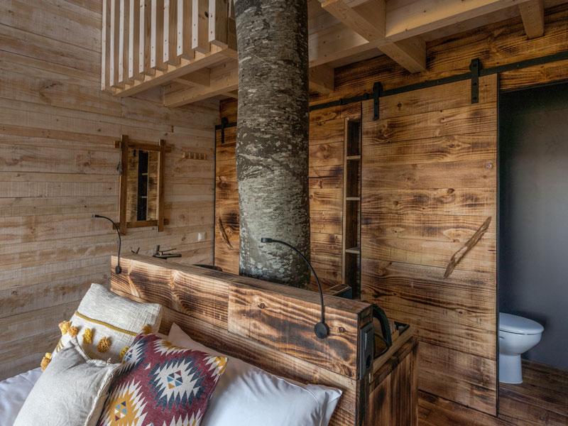 Cabana Quintillac habitació